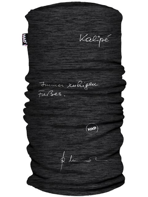 HAD Printed Fleece Halsbeklædning grå/sort